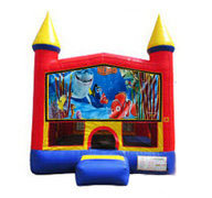 Finding Nemo Bounce house 13x13