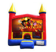The Incredibles Bounce house  13x13