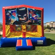 Lego Batman Bounce house 13x13