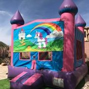 Unicorn Bounce house 13x13