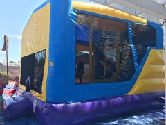 4 in 1 Wet Dry Slide Bounce house Package