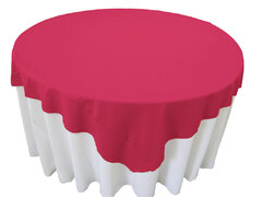 Hot Pink Table Overlay
