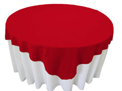 Red Table Overlay