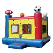 13x13 Sports Bounce House
