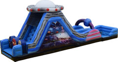 22ft Galaxy Double Lane Slide