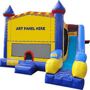 7 in 1 Bounce house Slide Obstacle Combo (Dry Only)