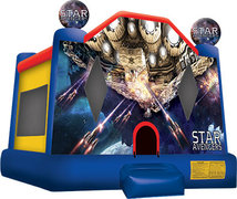 Star Avengers bounce house