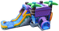 Cowabunga Bounce House Combo (Wet/Dry)