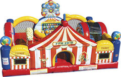 Carnival Fair Toddler Bounce House