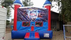 Foot Ball Bounce house 13x13