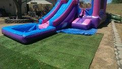 3 in 1 Pink Slide Combo 13ftx26ft