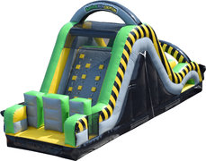 Toxic Slide Obstacle Course