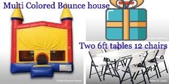 Boys Bounce House Party Package