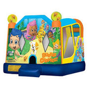 4 in 1 Bubble Guppies Slide Bounce House Combo