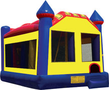 Castle 6 in 1 Bounce house Dry Slide Combo (Dry Only)