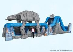 55ft Star Wars Obstacle Course