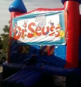 Dr. Seuss Bounce house 13x13
