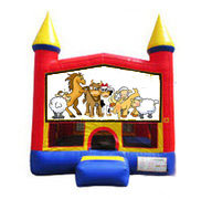 Farm Animals Bounce House 13x13