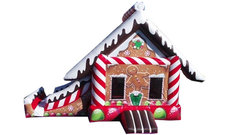 Gingerbread Candy House Slide Combo