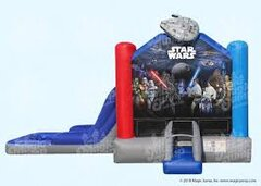 Star Wars Bounce House Water Slide