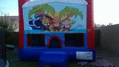 Jake and the Neverland Pirates Bounce house 13x13