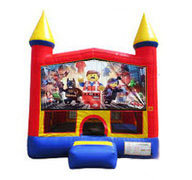 Lego Movie Bounce house 13x13