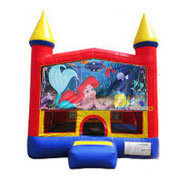 Little Mermaid Ariel Bounce house 13x13