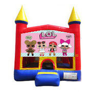 Lol Surprise Doll Bounce house 13x13
