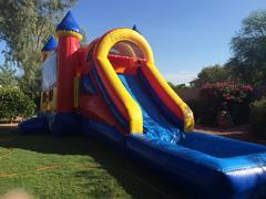 Bounce House Water slide Party Package