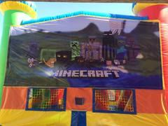 Minecraft Bounce house 13x13