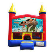 Moana Bounce house 13x13