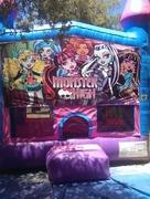 Monster High Bounce house 13x13