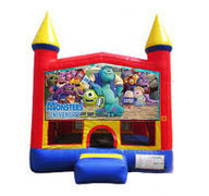 Monsters Inc Bounce house 13x13