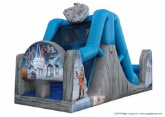 18ft Star Wars Dual Water Slide
