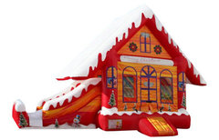 Winter Holiday House Slide Combo Christmas