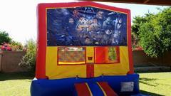Star Wars Bounce house 13x13