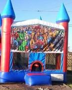 Marvel Super Heros Bounce house 13x13