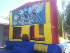 TMNT Bounce House Teen Age Mutant Ninja Turtles