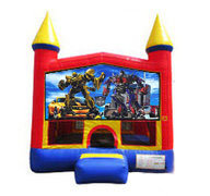 Transformers Bounce house 13x13