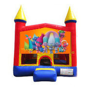 Trolls Bounce house 13x13