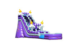 Lightning 21ft waterslide