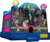 Zombie Town Large Bounce House