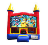 Pokemon Bounce house 13x13