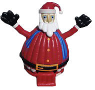 Santa Claus Dance Dome