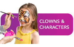CLOWNS and CHARACTERS