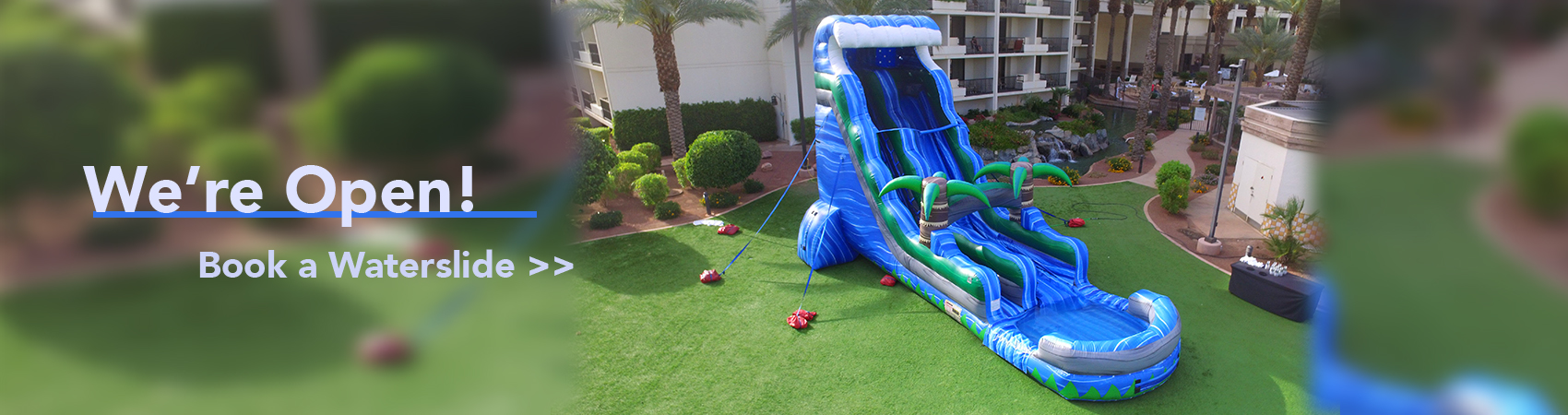 Waterslide Rentals Open