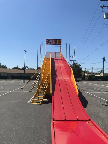 Super Slide Carnival Ride 60 Foot