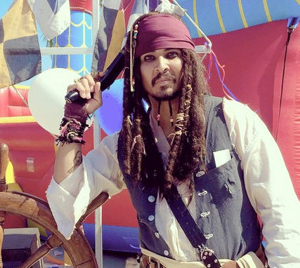 Pirate Jack Character