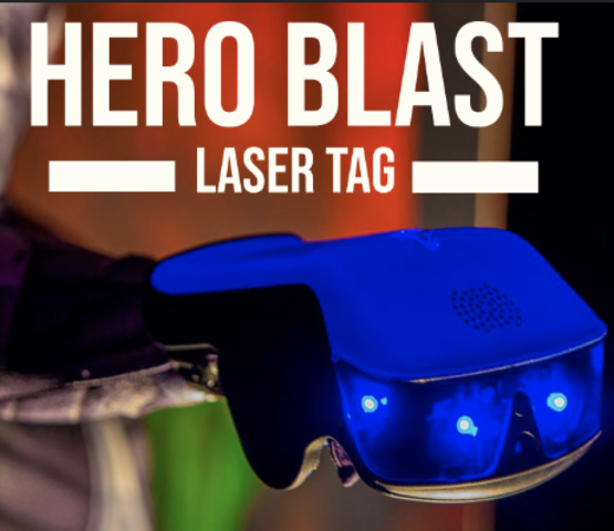 HERO BLAST Laser Tag Package