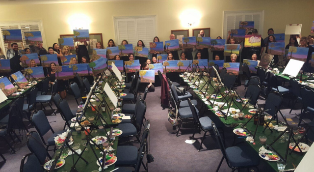 Express Paint N' Sip Mobile Event